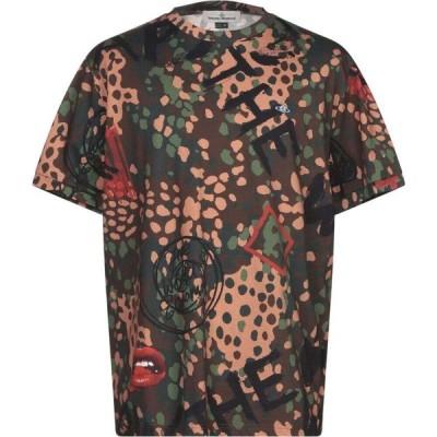 ヴィヴィアン ウエストウッド VIVIENNE WESTWOOD メンズ Tシャツ トップス t-shirt Military green