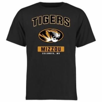 Fanatics Branded ファナティクス ブランド スポーツ用品  Missouri Tigers Black Campus Icon T-Shirt