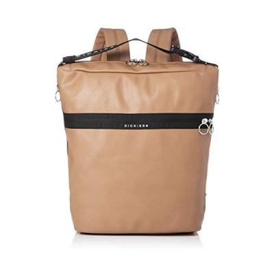 [ディッキーズ] バッグ DK SYNTHETIC LETHER 2WAY BAG (S・ベージュ Free Size)