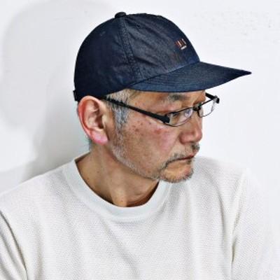 キャップ ダックス コットン daks ファッション 帽子 ファッション小物 ロングブリム アジャスター付き 紺 ネイビー
