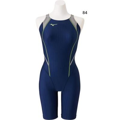 ミズノ レディース 競泳用ハーフスーツ マスターズバック スイムウエア スイミング 水泳 競泳水着 FINA承認 N2MG0240