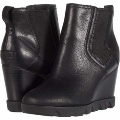 ソレル SOREL レディース ブーツ シューズ・靴 Joan Uptown Chelsea Black