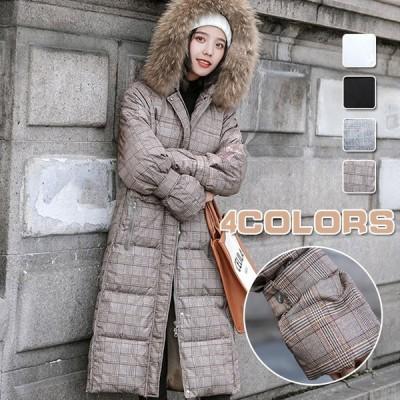 秋冬コート レディース  ダウン  韓国風 中綿 レディース ダウン   カジュアル かわいい 長袖コート 綿入れ ロング丈冬服 暖かい