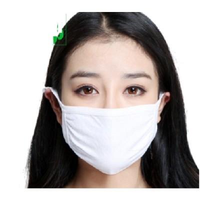 即納 送料無料 布製白マスク10枚セット  綿100% 国内在庫 ※洗って何度でも繰り返しお使い頂けます。眼鏡が曇りずらい レビューでもう1枚プレゼント中