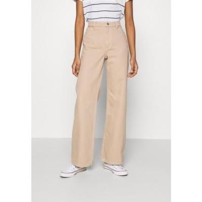 レディース ファッション Straight leg jeans - beige medium dusty