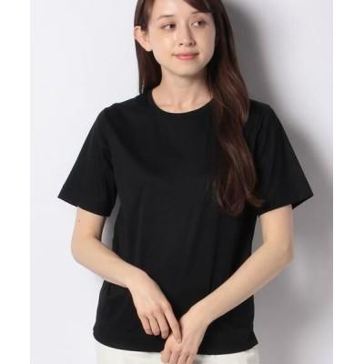 ANAYI/アナイ スビンコットンクルーTシャツ ブラック5 36