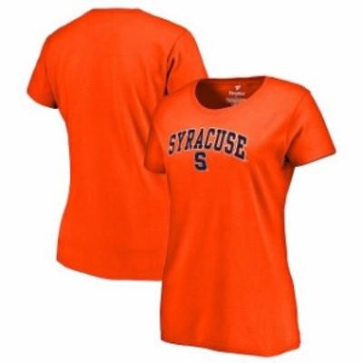 Fanatics Branded ファナティクス ブランド スポーツ用品  Fanatics Branded Syracuse Orange Womens Orange Campus T-Shirt