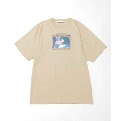 【レイカズン/RAY CASSIN】 女の子フォトビックTシャツ