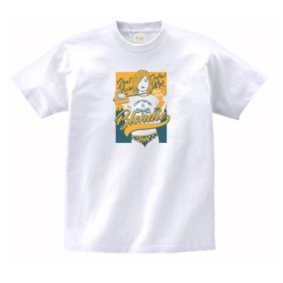 BLONDIE 音楽・ロック・シネマ Tシャツ