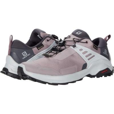 サロモン Salomon レディース ハイキング・登山 シューズ・靴 X Raise GTX Quail/India Ink/Flint