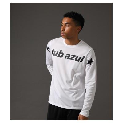 【アズールバイマウジー】 AZUL×REEBOK LS T-SHIRTS メンズ ホワイト XL AZUL BY MOUSSY