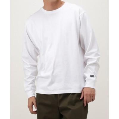 tシャツ Tシャツ USAコットン 天竺無地長袖Tシャツ
