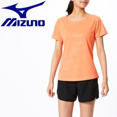 ゆうパケット配送 ミズノ MIZUNO トレーニングウエア ソーラーカットTシャツ レディース 32MA032363