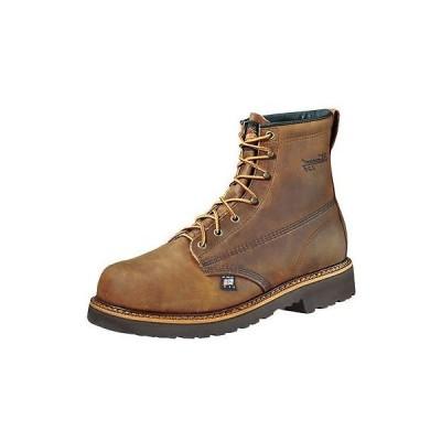 ウエスタン カウボーイ ブーツ シューズ 靴 ソログッド Thorogood Work ブーツ メンズ Work Safety Toe 10 D ブラウン Trail 804-3366