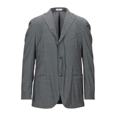 ボリオリ BOGLIOLI テーラードジャケット グレー 54 バージンウール 100% テーラードジャケット