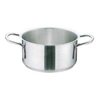 鍋 外輪鍋 ムラノ インダクション18-8外輪鍋(蓋無)IH対応16cm 7-0005-0301 8-0005-0301