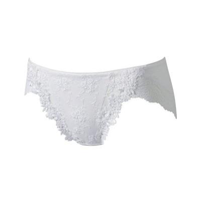 ワコールブライダル ノーマルショーツ レース装飾 ホワイト