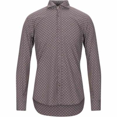 スティロソフィー インダストリー STILOSOPHY INDUSTRY メンズ シャツ トップス patterned shirt Maroon