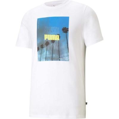 プーマ PUMA メンズ Tシャツ トップス Photo Tee White