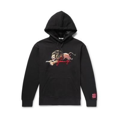 ジバンシィ GIVENCHY スウェットシャツ ブラック XS コットン 100% / レーヨン スウェットシャツ