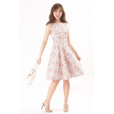 【ディアプリンセス】 リバティーワンピース レディース ホワイト 38 Dear Princess