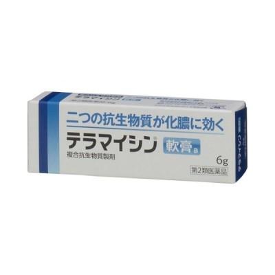 (第2類医薬品) テラマイシン軟膏/ 皮膚の薬 傷薬・化膿止め (医)