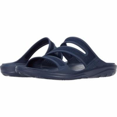 クロックス Crocs レディース サンダル・ミュール シューズ・靴 Swiftwater Telluride Sandal Navy/Navy