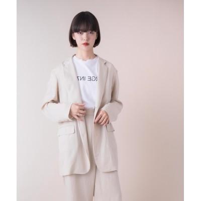 miniyu / La SRIC / オーバーサイズテーラージャケット 【セットアップ可】 WOMEN ジャケット/アウター > テーラードジャケット