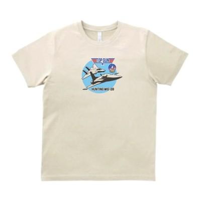 TOPGUN HUNTING MIG-28 アーミー ミリタリー Tシャツ サンド