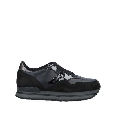 ホーガン HOGAN スニーカー&テニスシューズ(ローカット) ブラック 34 革 / 紡績繊維 スニーカー&テニスシューズ(ローカット)