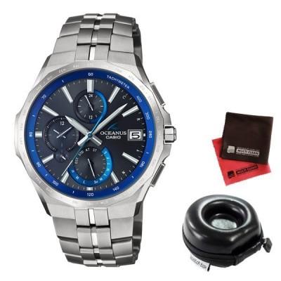 【ポイント10倍】(時計ケース丸型・クロスセット)(国内正規品)(カシオ)CASIO 腕時計 OCW-S5000-1AJF (オシアナス)OCEANUS メンズ 最薄マンタ Bluetooth搭載