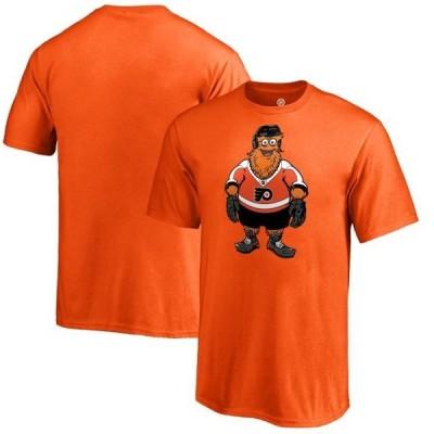 キッズ スポーツリーグ ホッケー Philadelphia Flyers Fanatics Branded Youth Gritty T-Shirt - Orange Tシャツ