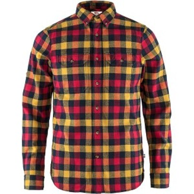 フェールラーベン メンズ シャツ トップス Skog Shirt True Red
