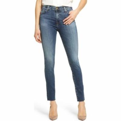 エージー AG レディース ジーンズ・デニム スキニー ボトムス・パンツ Farrah High Waist Raw Hem Ankle Skinny Jeans 11 Years Blue Hor