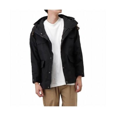 【マックハウス】 WOODS ウッズ マウンテンジャケット 2C5-5991 メンズ ブラック L MAC HOUSE