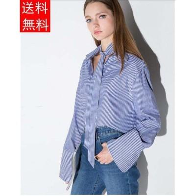 可愛い ファッション シャツ ブラウス レディース 長袖