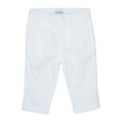 ビッケンバーグ BIKKEMBERGS パンツ ホワイト 6 コットン 97% / ポリウレタン 3% パンツ