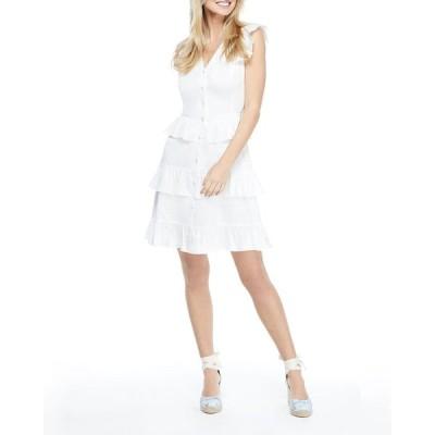 ギャルミーツグラム レディース ワンピース トップス Sleeveless Ruffle Tiered Dress