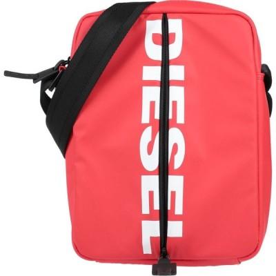 ディーゼル DIESEL メンズ ショルダーバッグ バッグ cross-body bags Red