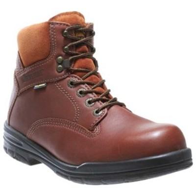 """ウルヴァリン メンズ ブーツ&レインブーツ シューズ DuraShock SR Boot 6"""" Brown"""