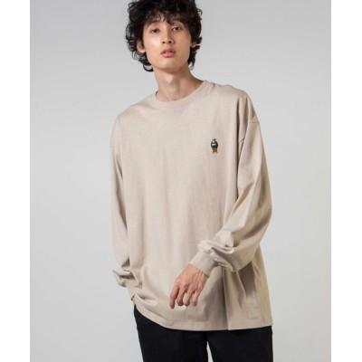 WEGO / ∴WEGO/BEN DAVIS 別注ベンデイビス刺繍ビッグロンT MEN トップス > Tシャツ/カットソー