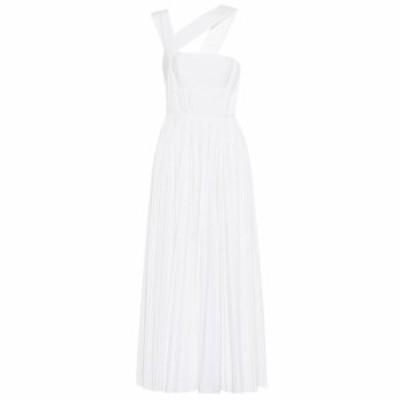 ガブリエラ ハースト Gabriela Hearst レディース ワンピース ワンピース・ドレス Norah pleated cotton maxi dress Ivory