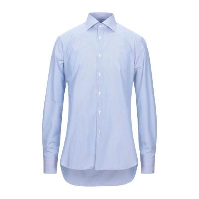 ZANETTI 1965 シャツ ブルー 44 コットン 100% シャツ