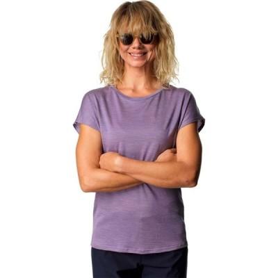フーディニ Houdini レディース Tシャツ トップス activist t - shirt Lavender Woods