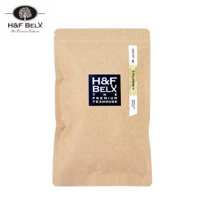 H&F BELX デカフェコーヒー 焙煎豆 コロンビア 150g [M便 1/3]