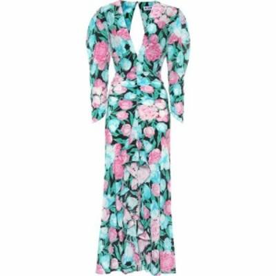 リキソ Rixo レディース ワンピース マキシ丈 ワンピース・ドレス Paloma Floral Silk Maxi Dress Tulip Floral