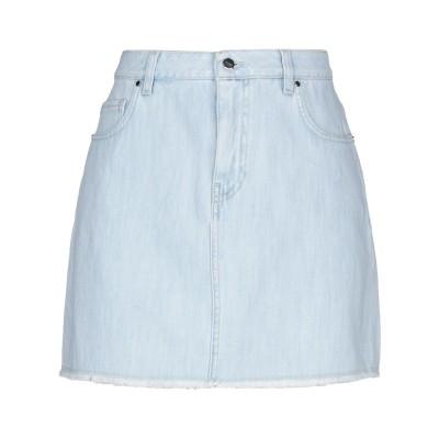 P_JEAN デニムスカート ブルー 42 コットン 100% デニムスカート