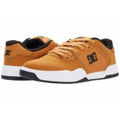 DC ディーシー メンズ 男性用 シューズ 靴 スニーカー 運動靴 Central Wheat【送料無料】