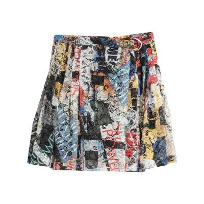 ERMANNO DI ERMANNO SCERVINO ひざ丈スカート アイボリー 46 ナイロン 100% ひざ丈スカート