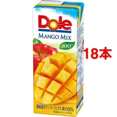 ドール マンゴーフルーツミックス100% (200ml*18本入)